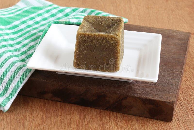 Zdrowy Karmowy Jaggery lub Unrefined cukier zdjęcie stock