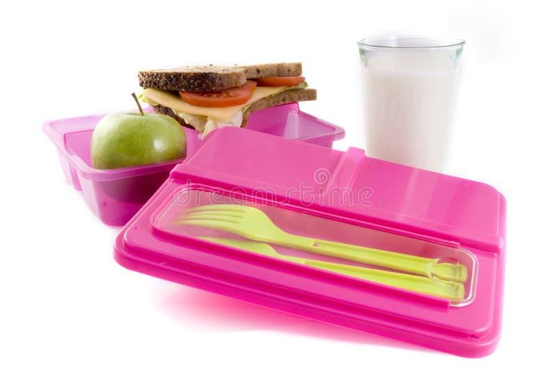 zdrowy lunchbox fotografia royalty free
