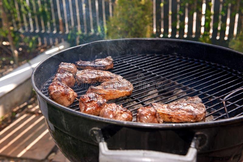 Zdrowy mięsa bbq fotografia royalty free