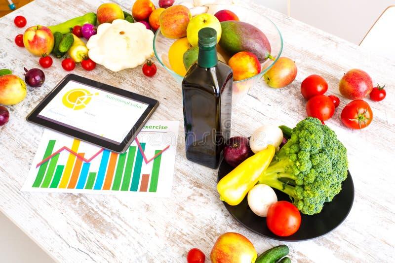 Download Zdrowy Odżywianie I Oprogramowania Przewodnictwo Obraz Stock - Obraz złożonej z zdrowy, organicznie: 53791701