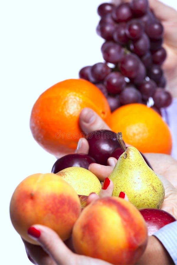 Zdrowy owocowy wybór fotografia royalty free