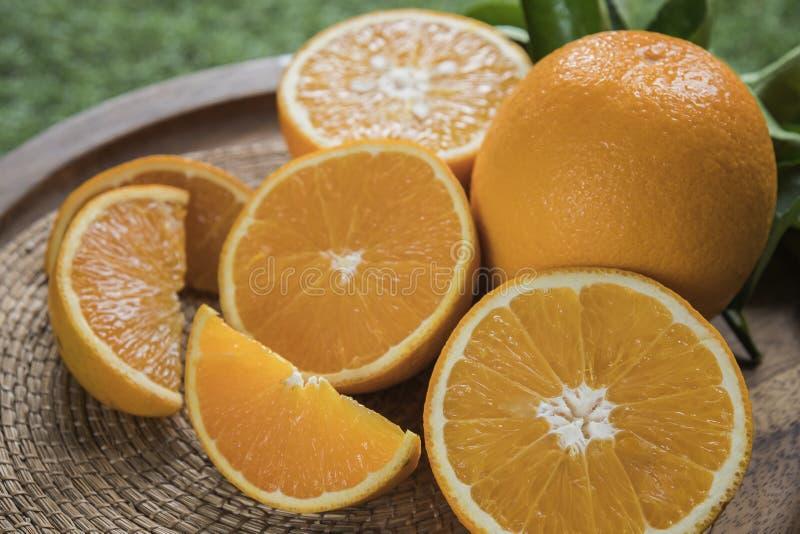 Zdrowy pomara?czowy owoc t?o wiele pomara?czowe owoc obraz royalty free