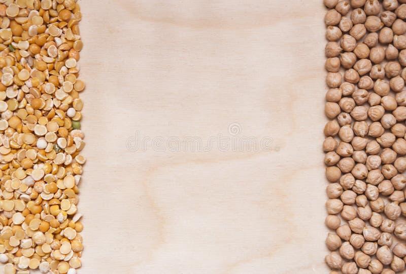 Zdrowy proteinowy źródło dla jaroszy i weganinów obraz royalty free