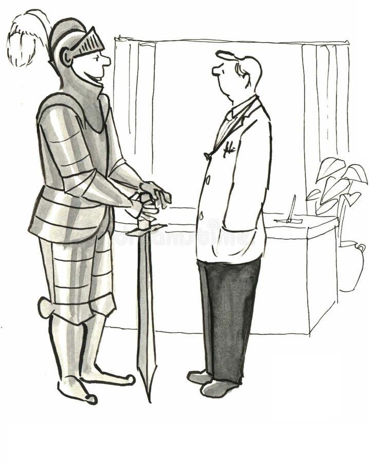Zdrowy styl życia royalty ilustracja