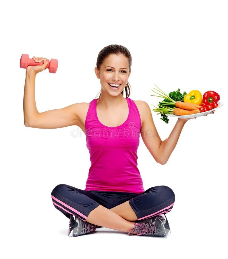 Zdrowy zrównoważony styl życia obrazy stock