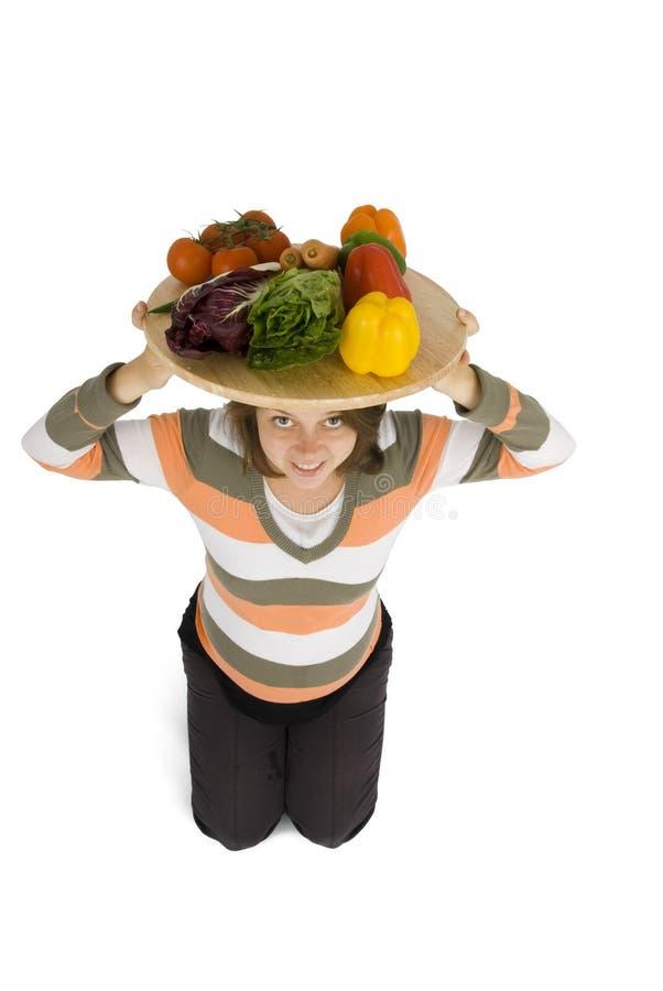 zdrowych diet kobiety. fotografia stock