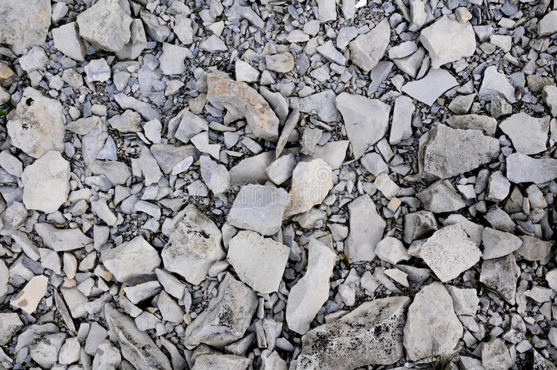 Zdruzgotane skały na Gros Morne górze obrazy stock