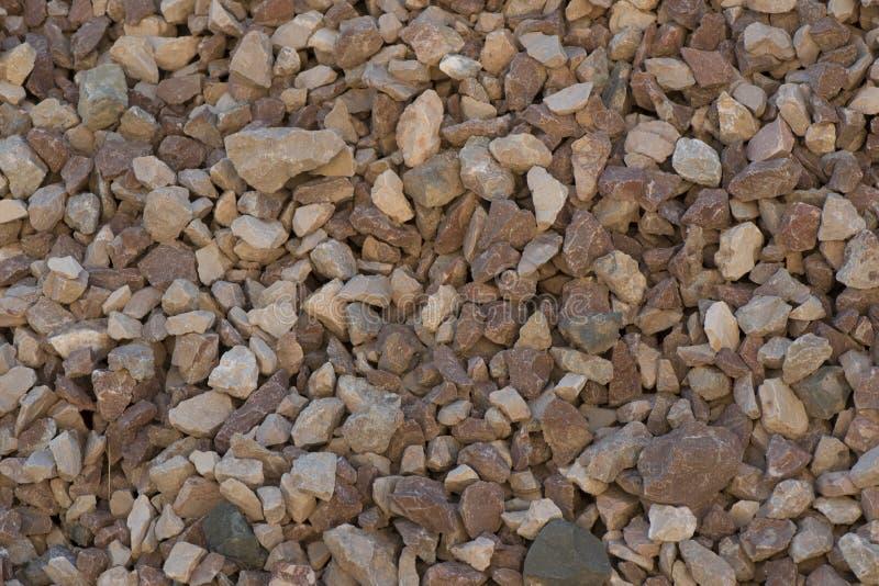 Zdruzgotany kamień różna frakcja obrazy royalty free