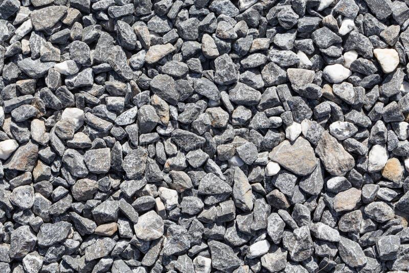 Zdruzgotany siwieje kamienie zdjęcia royalty free