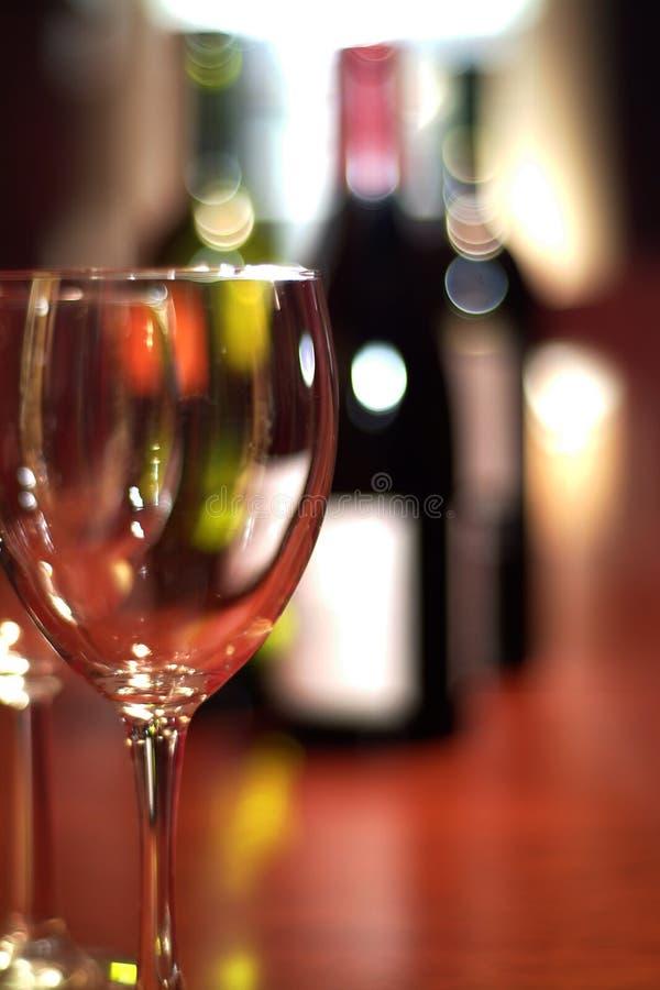 ze smakiem wina obraz stock