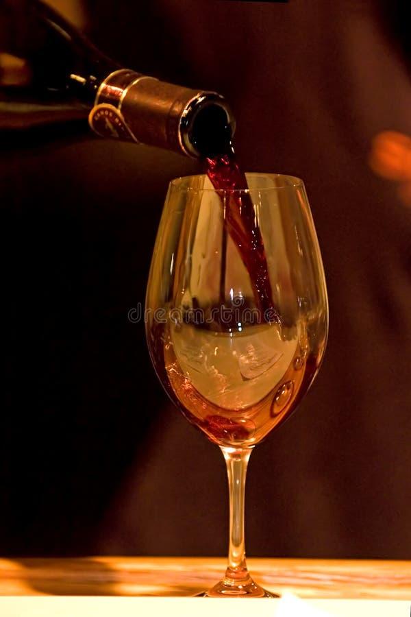 ze smakiem wina obrazy stock