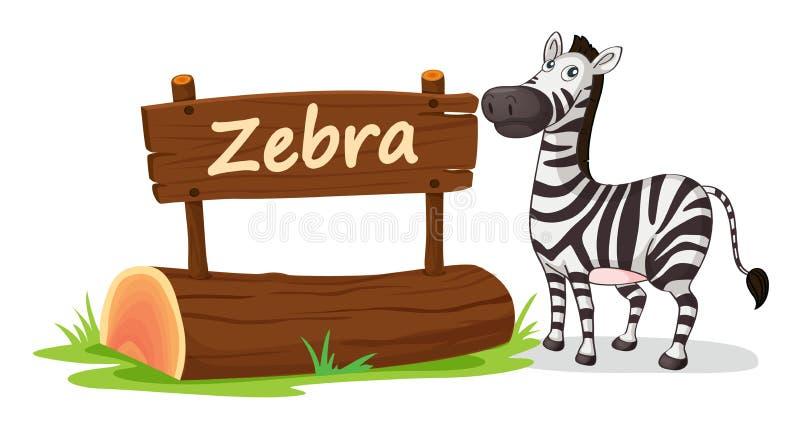 Zebra royalty illustrazione gratis
