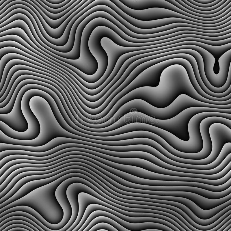 Zebra ilustração royalty free