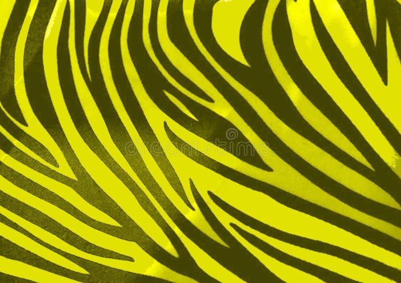 Zebra animal print wallpaper background royalty free illustration