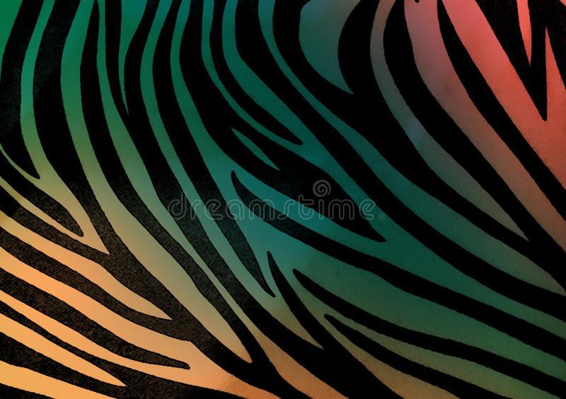 Zebra animal print wallpaper background. Also for use as design layout with text and images vector illustration