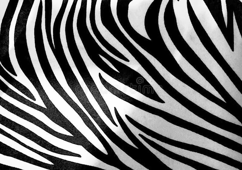 Zebra animal print wallpaper background vector illustration