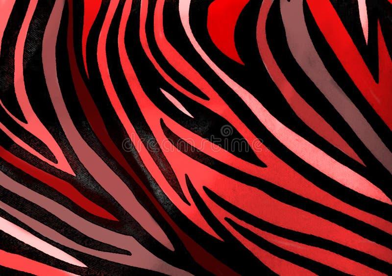 Zebra animal print wallpaper background royalty free stock images