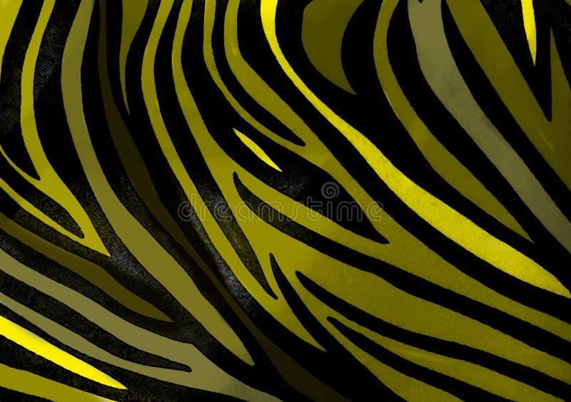 Zebra animal print wallpaper background royalty free stock photo