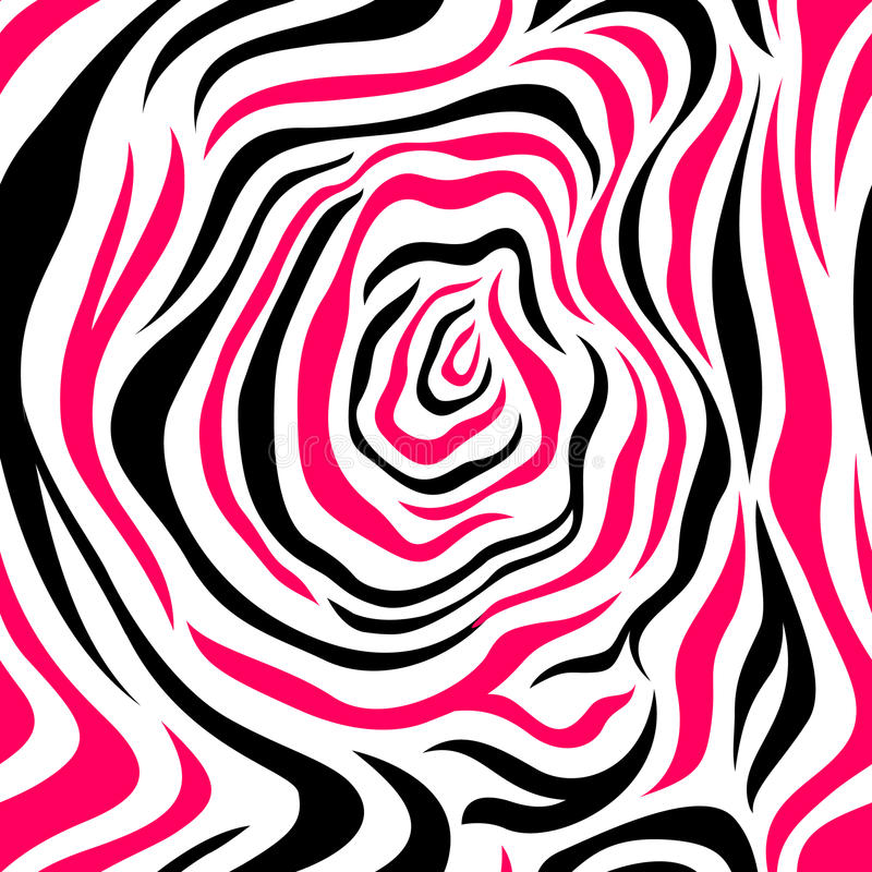 zebra black and red strips seamless pattern stock vector rh dreamstime com animal print cebra vector zebra print vector art free