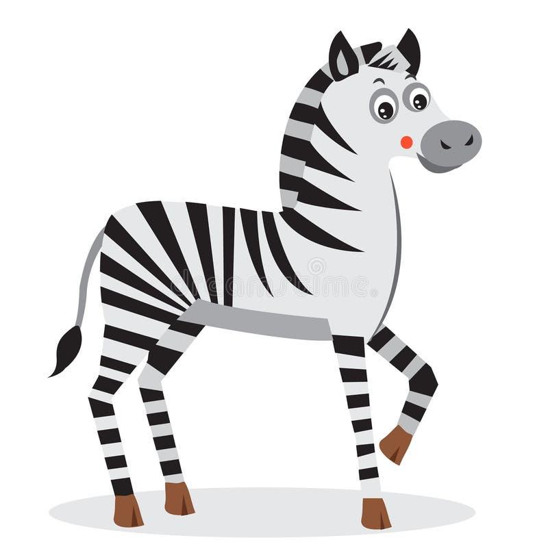 Zebra Character Design : Zebra cartoon animal character cut vector baby