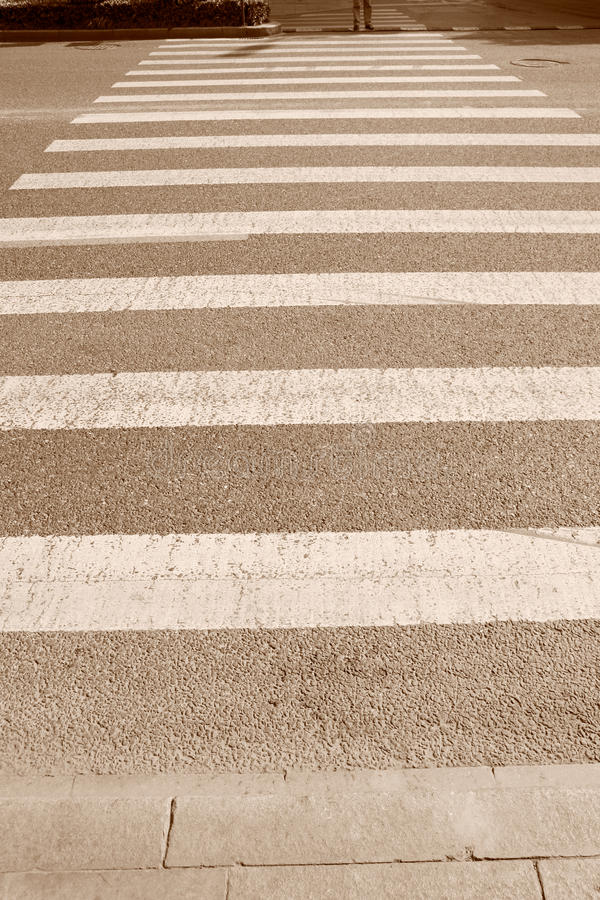 Download Zebra crossing stock image. Image of action, business - 11418893