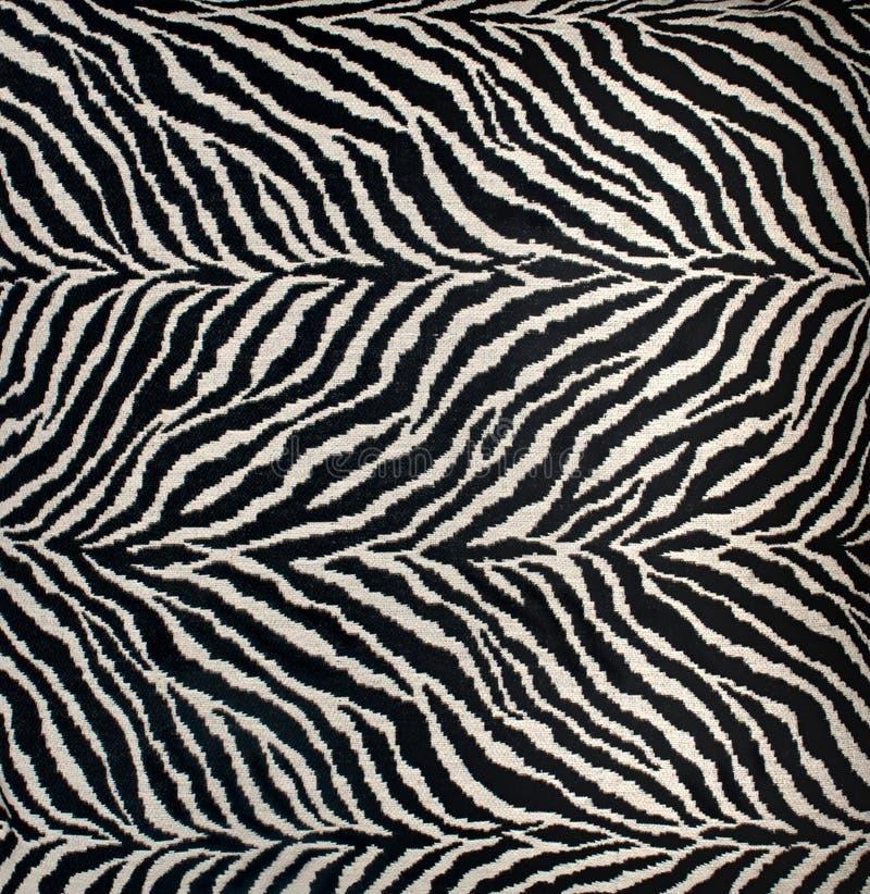 Zebra-Druck-Hintergrund lizenzfreie stockbilder