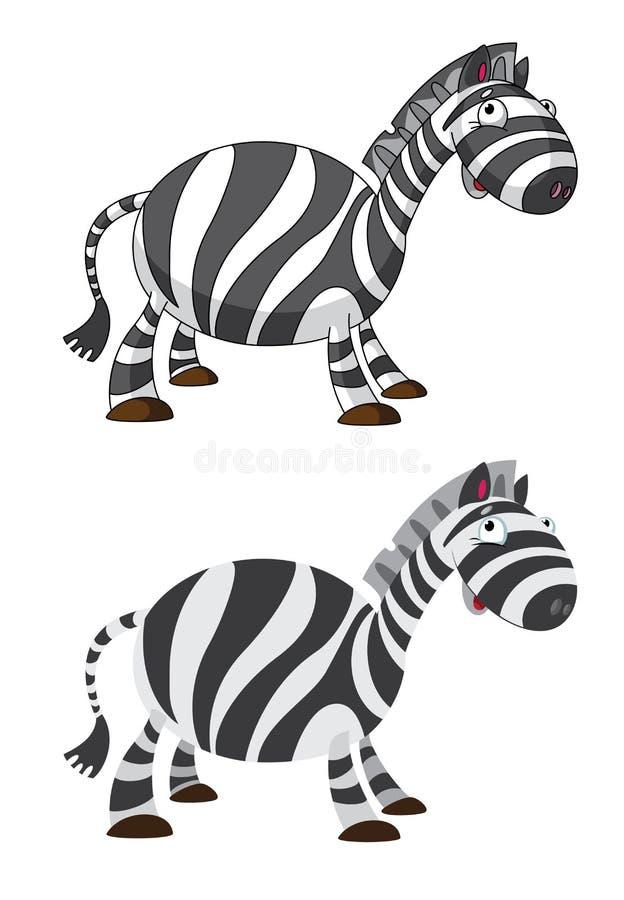 Zebra engraçada