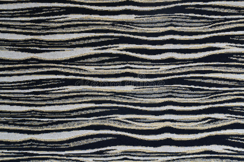 Zebra fabric texture stock photo