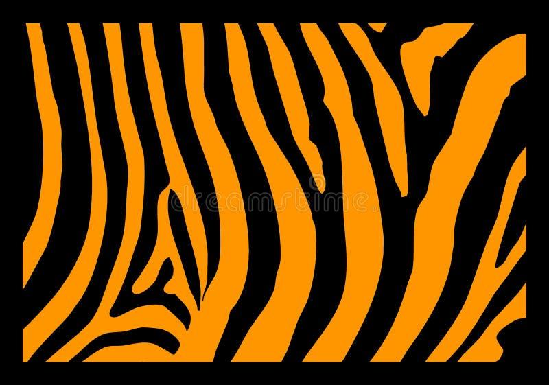 Zebra-Haut lizenzfreie abbildung