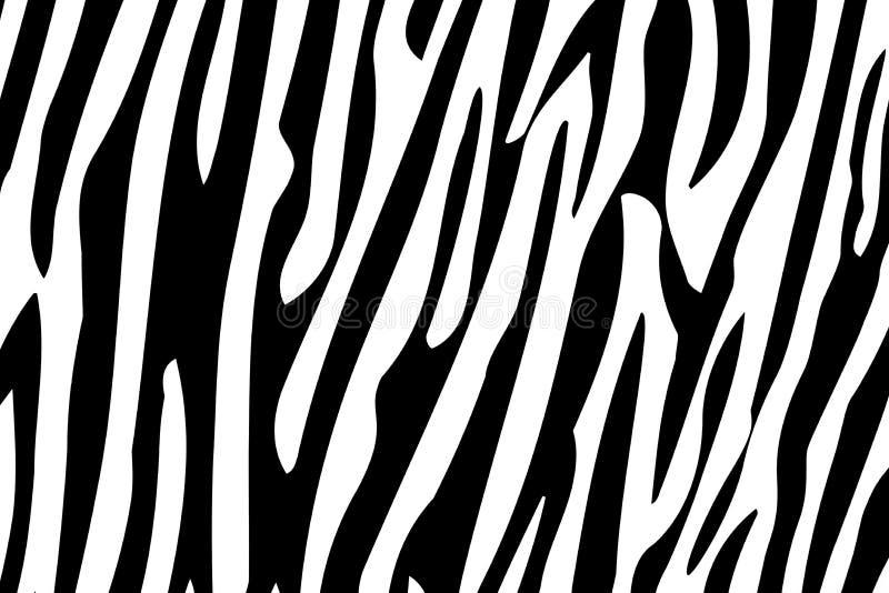 A zebra listra o teste padrão sem emenda imagens de stock