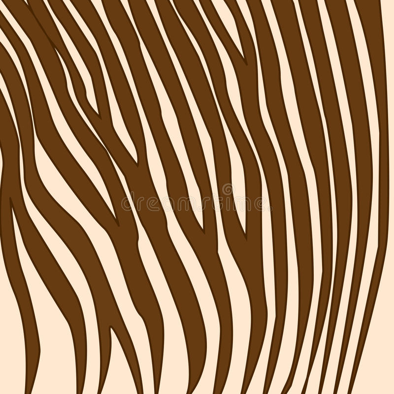 Zebra Print royalty free illustration