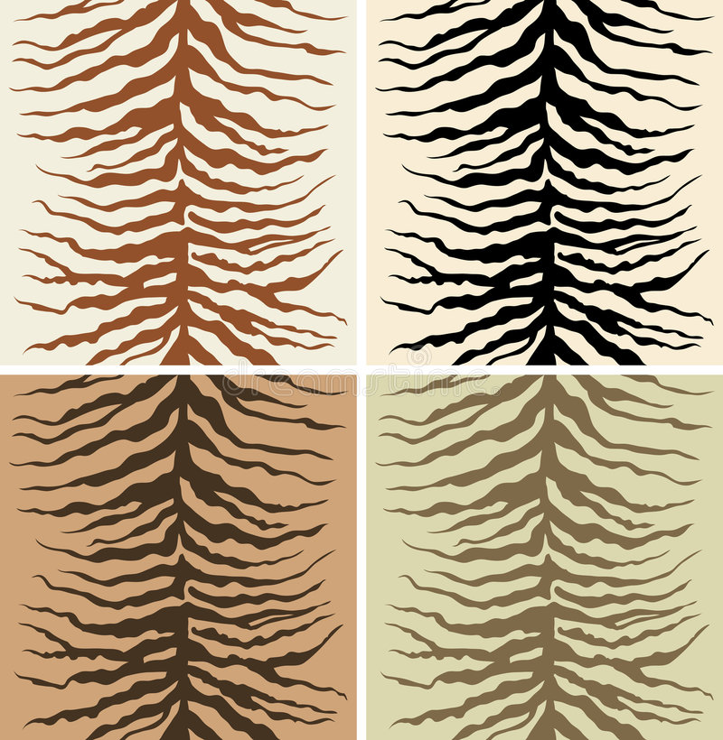 zebra skóry. royalty ilustracja