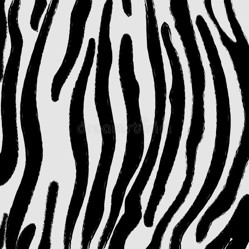 Zebra skin pattern stock image