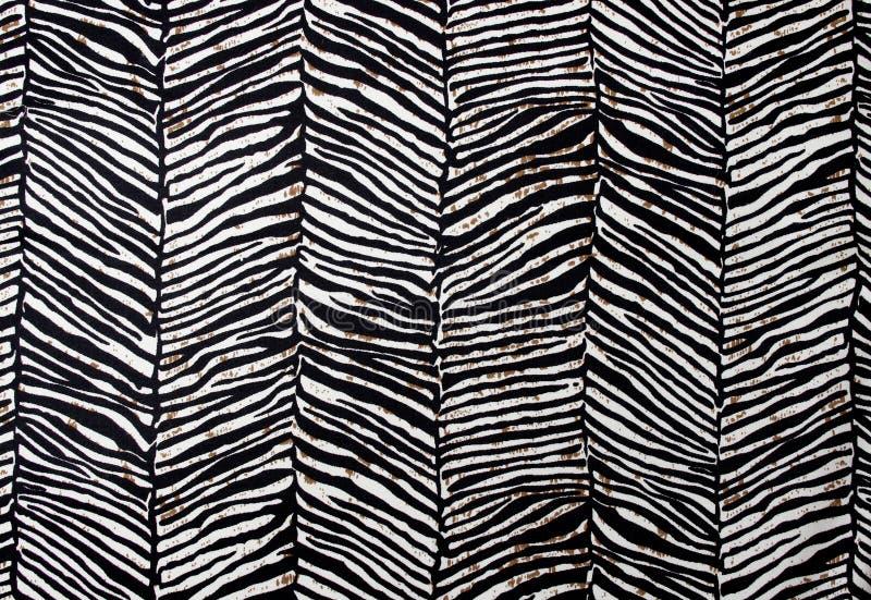 Zebra wzór obraz stock