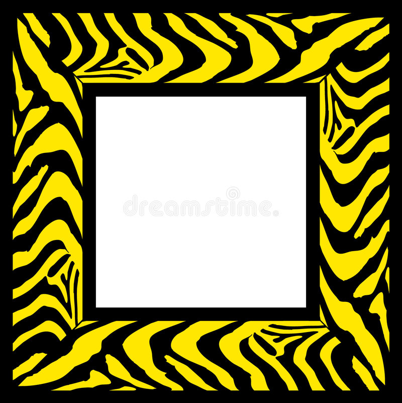 Zebrafeld vektor abbildung