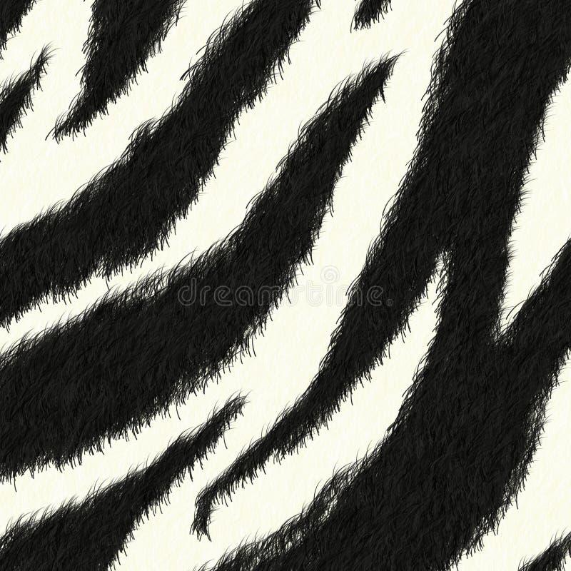 Zebrahaut-Musterhintergrund Stockfotografie