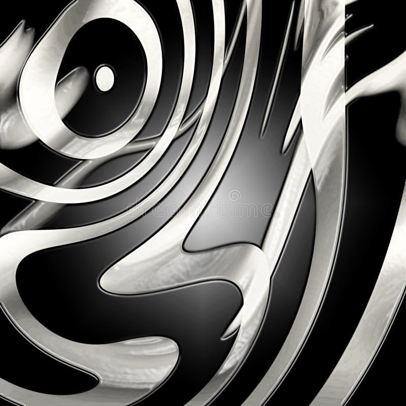 Zebrahautbeschaffenheit vektor abbildung