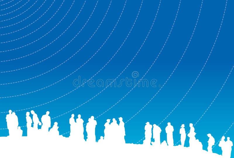 Download Zebrane razem ilustracji. Obraz złożonej z oceniać, teens - 5478993