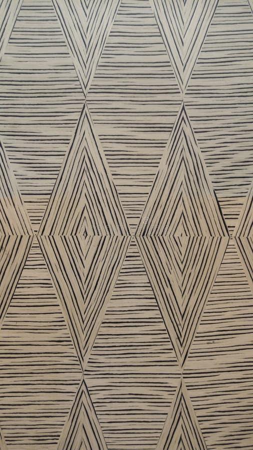 Zebrano houten textuur in ontwerppatroon voor meubilair het eindigen/achtergrondtextuur/gestreepte houten /seamless-textuur royalty-vrije stock fotografie