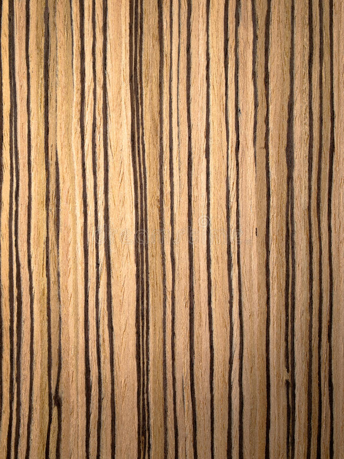 Zebrano Wood Texture Royalty Free Stock Image Image