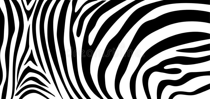 Zebry tekstury deseniowy powtarzać Prosty wzór, czerni linia dla tekstylnej projekt tkaniny ilustracja wektor