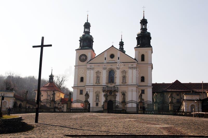 Zebrzydowska kyrka fotografering för bildbyråer