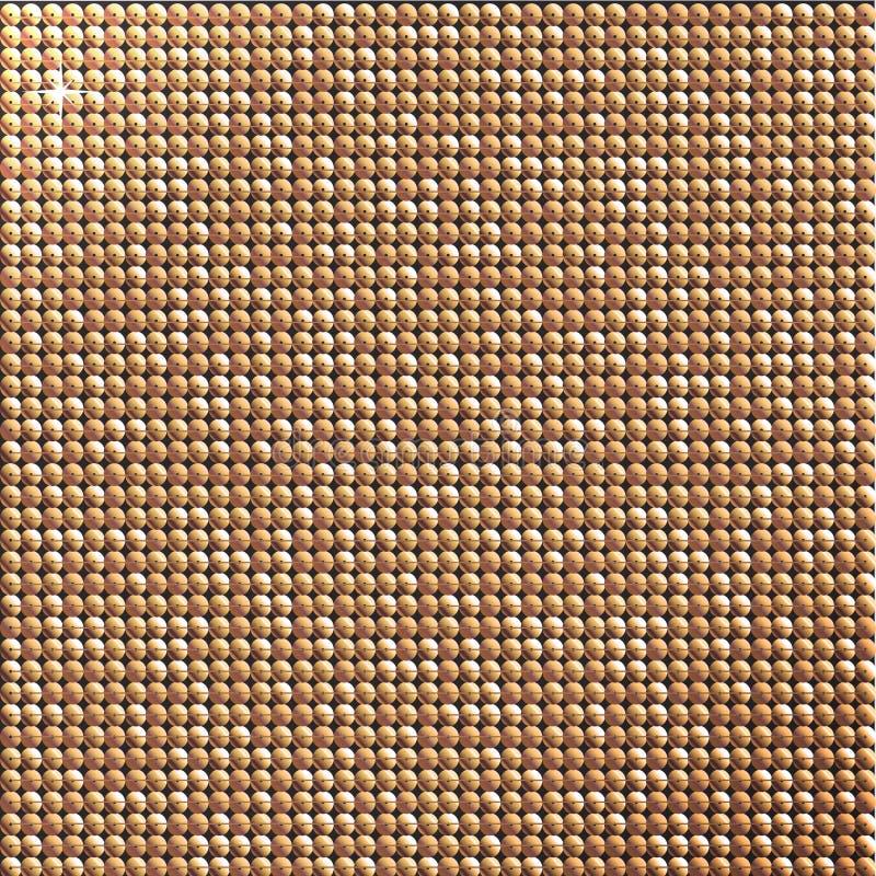 Zecchini dell'oro piccoli fotografie stock