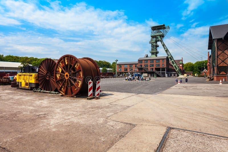 Zeche Zollern kopalnia węgla, Dortmund obrazy stock
