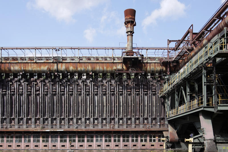 Zeche Zollverein. Old steel production in Essen, Germany stock image