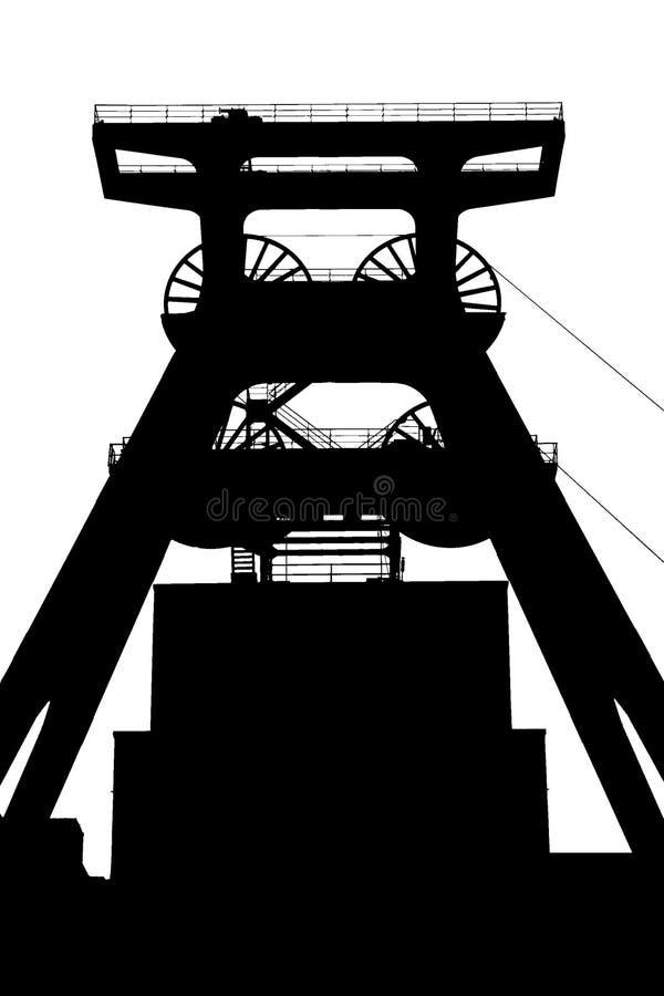 zeche zollverein royalty ilustracja