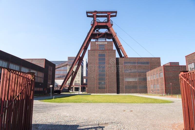 Zeche Zollverein zdjęcia stock