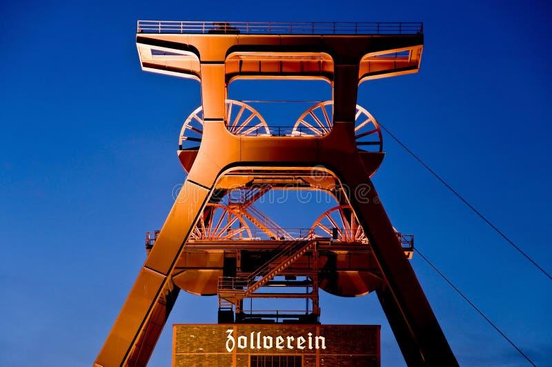 Zeche Zollverein fotografia de stock