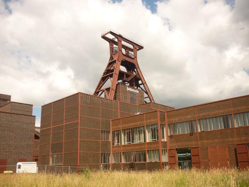 Zeche Zollverein Essen Duitsland royalty-vrije stock foto