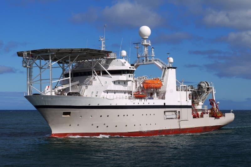 Zee het Duiken Schip op zee stock foto's